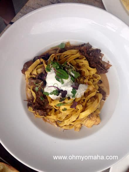 Beef stroganoff at Crave is pure comfort food, which, I think means the calories don't count.