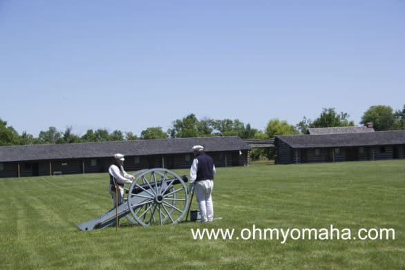 10 unforgettable experiences in Nebraska - Watching historical re-enactors fire the cannon at Fort Robinson State Park