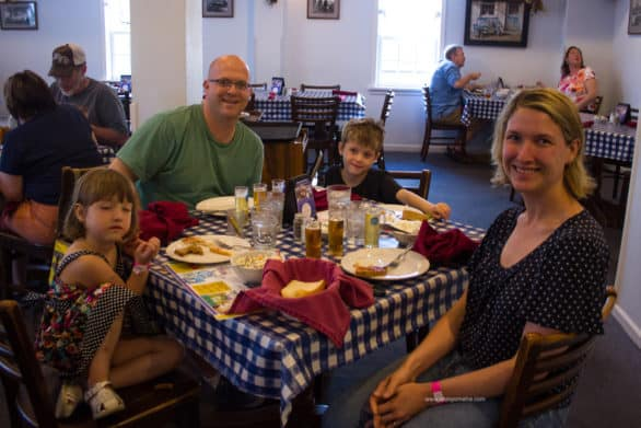 Dining in Amana with kids - Try the family banquet feast at Ox Yoke Inn in Amana