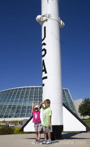 The Strategic Air Command and Aerospace Museum in Ashland, Neb., is a must-visit if your kids are fascinated by airplanes and spacecraft.