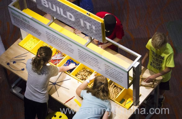Building station at Children's Learning Center at Strategic Air Command & Aerospace Museum