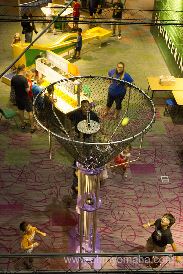 Overhead view of Children's Learning Center at Strategic Air Command & Aerospace Museum