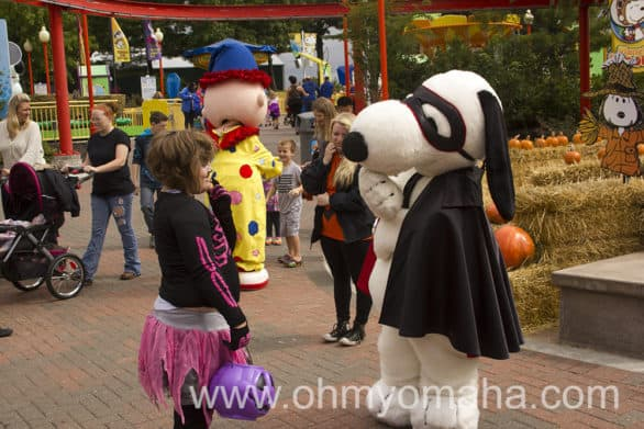 You can meet Snoopy during The Great Pumpkin Fest at Worlds of Fun.