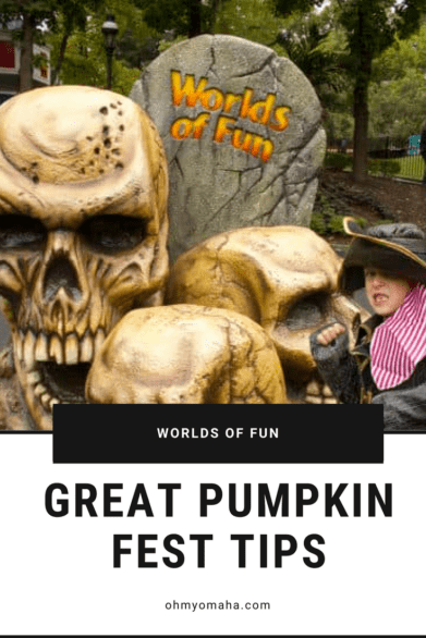 Tips for visiting Worlds of Fun in Kansas City during Halloween season - Find out when it's best to go with young kids and when it's best to go with big kids ready for the Halloween Haunt. UPDATED for 2019!