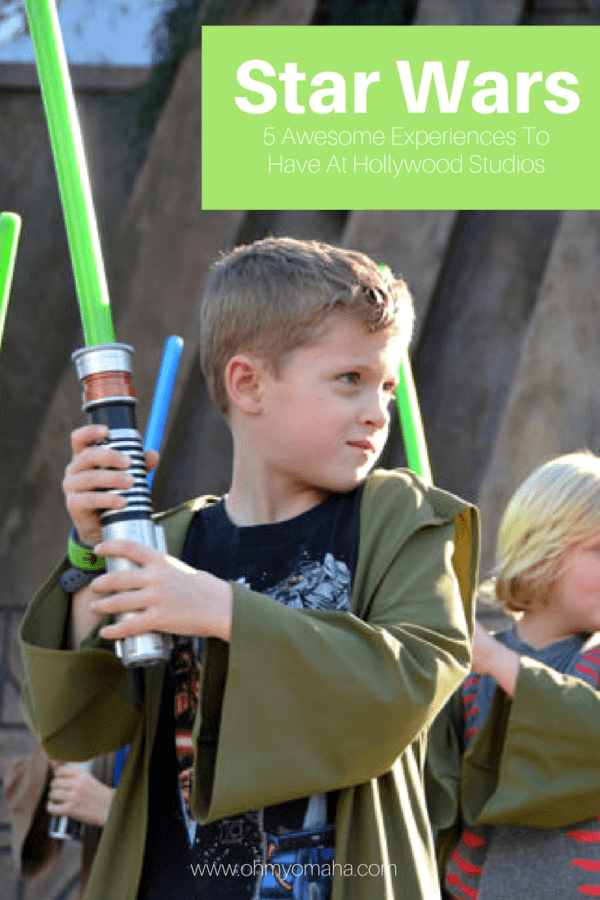 5 awesome Star Wars experiences at Hollywood Studios #Disney #Florida #StarWars #FamilyTravel