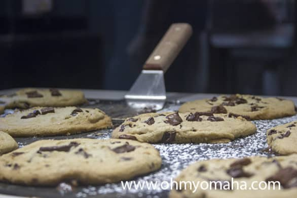 Chocolate chip cookies at My Pie Pizza