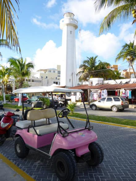 Bucket list of things to do on Isla Mujeres - Tour the island by golf cart, one of the preferred ways to travel around Isla Mujeres, Mexico