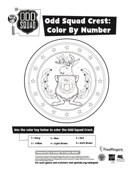 odd squad coloring pages Odd Squad Live! Coloring Contest   OhMy!Omaha odd squad coloring pages