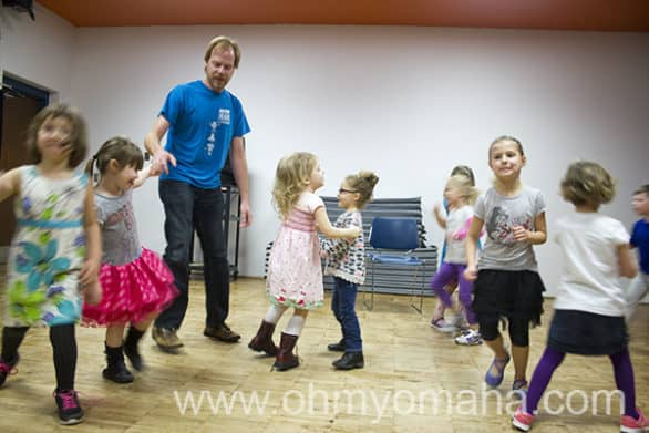 Creative Drama class for young kids at Omaha Community Playhouse