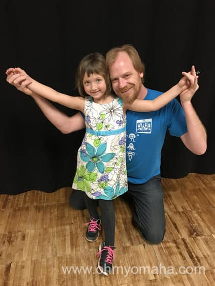 Creatie Drama teacher at the Henry Fonda Theatre Academy at Omaha Community Playhouse