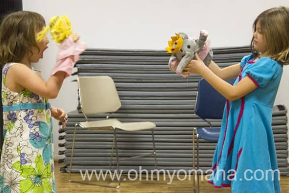 Theatre class for young kids at Omaha Community Playhouse