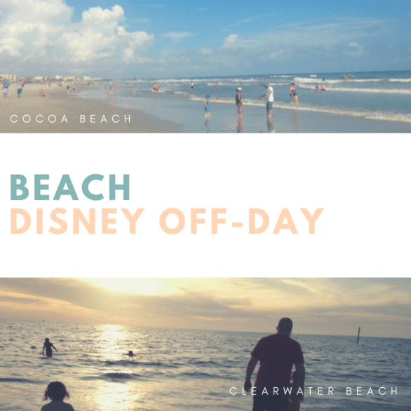 Disney Off-Day Beaches - Tips for visiting beaches near Disney World like Cocoa Beach #Florida #Beach