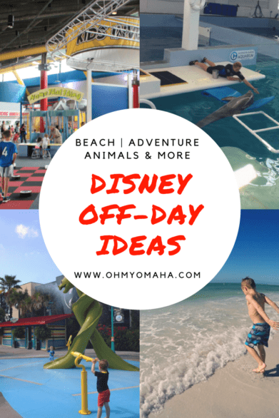 Taking a day off from Disney World? Here's a list of things to do when you're not at the Magic Kingdom, including nearby beaches, adventures like ziplines & museums. #Orlando #Florida #familytravel