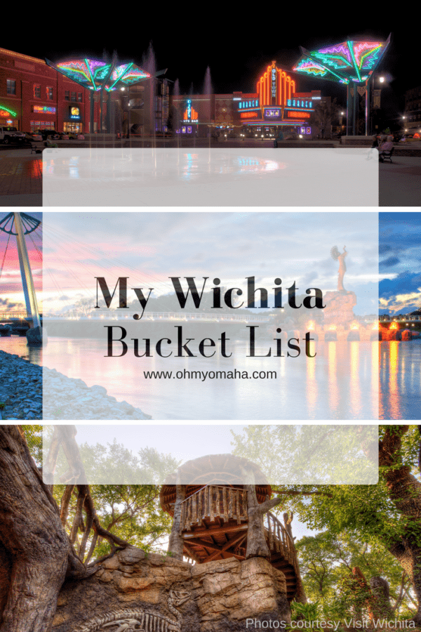 Wichita Bucket List - Big list of things to do in Wichita, what to see, where to eat, and a wish list of experiences #Kansas #Wichita #bucketlist #familytravel