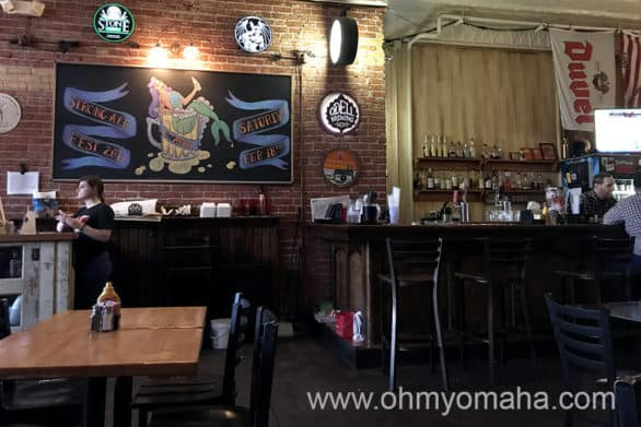Interior of The Anchor, a bar in Wichita, Kansas