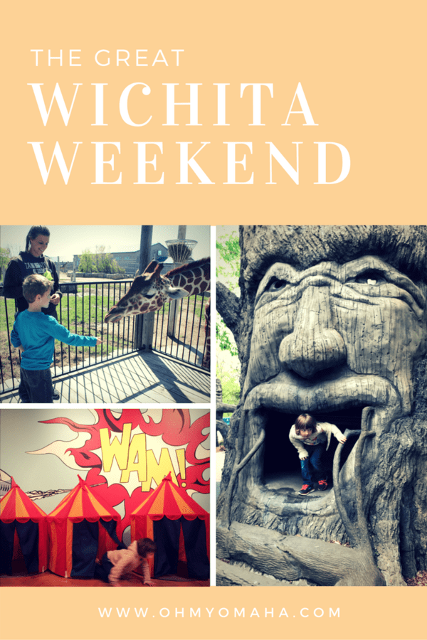 Fun things to do with kids in Wichita - A family-friendly weekend itinerary of where to go, what to do, and places to eat in Wichita, Kansas #familytravel #Kansas