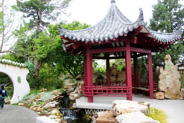 Chinese Friendship Garden in Botanica Wichita
