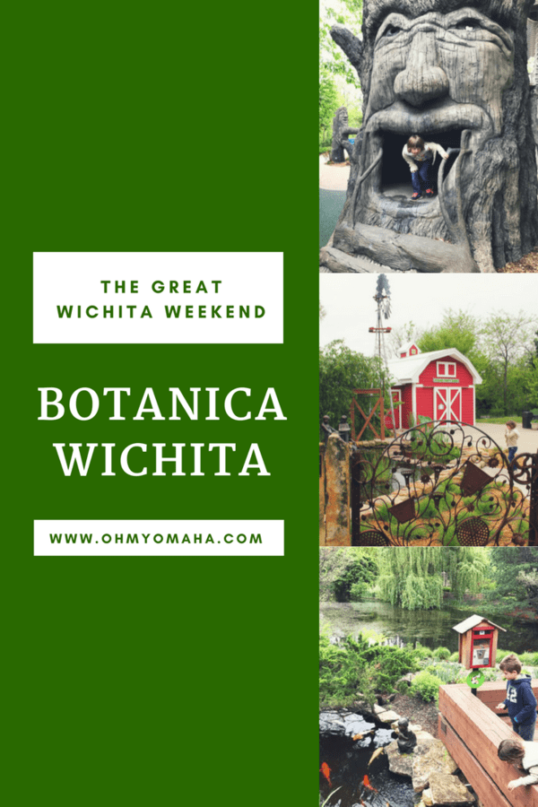 Botanica Wichita is a botanical garden that's fun for families! Read about all the things to explore there, including the enchanting children's garden. #Wichita #Kansas FamilyTravel