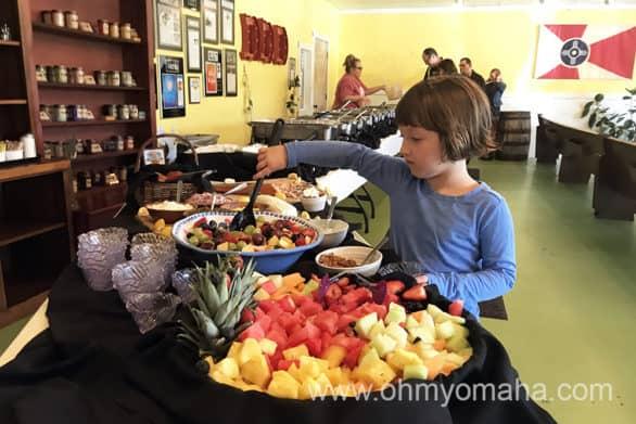 The Sunday buffet at Doo Dah Diner in Wichita, Kansas