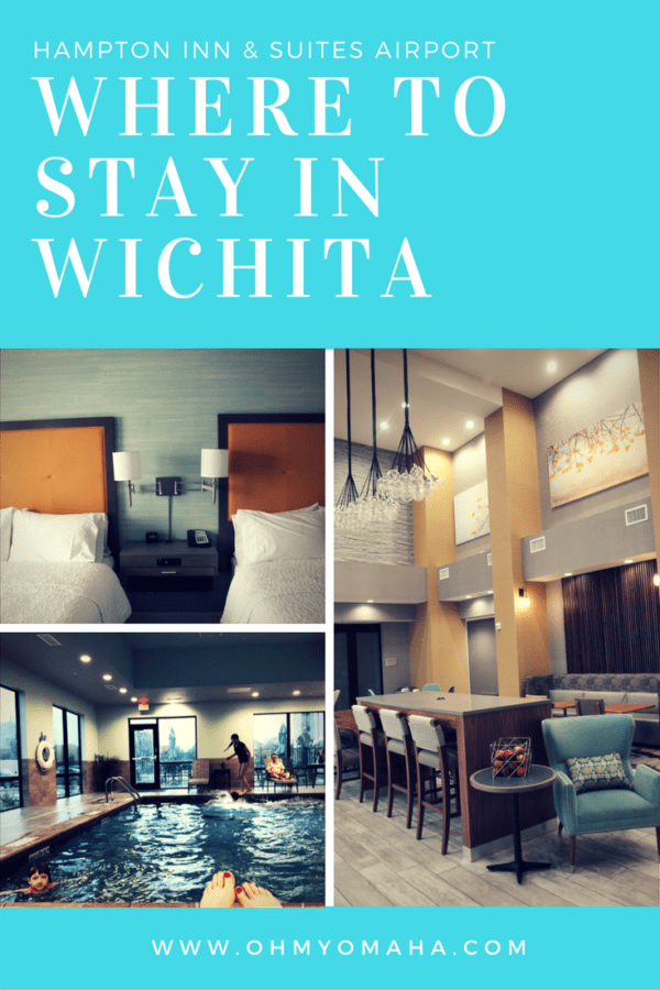 Headed to Wichita with kids? Here's one place to stay that puts you between Tanganyika Wildlife Park and downtown Wichita. #FamilyTravel #HotelTips #Kansas