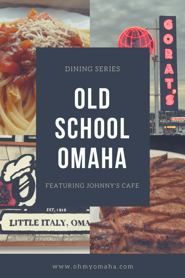 What's it like dining at one of Omaha's oldest restaurants, Johnny's Cafe? It's an old-school steakhouse with a retro interior to match. #Omaha #steaks