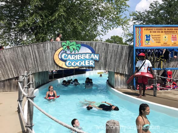Caribbean Cooler, a river flowing through Oceans of Fun in Missouri