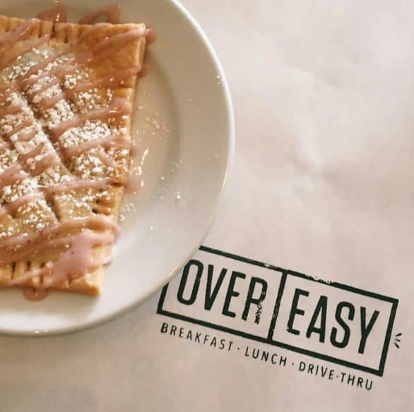 The homemade seasonal pop tarts at Over Easy make it a popular breakfast and brunch spot in West Omaha.