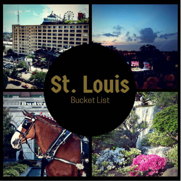 A St. Louis Bucket List - A list of things to see, do and eat in St. Louis, Missouri #USA #STL #Missouri