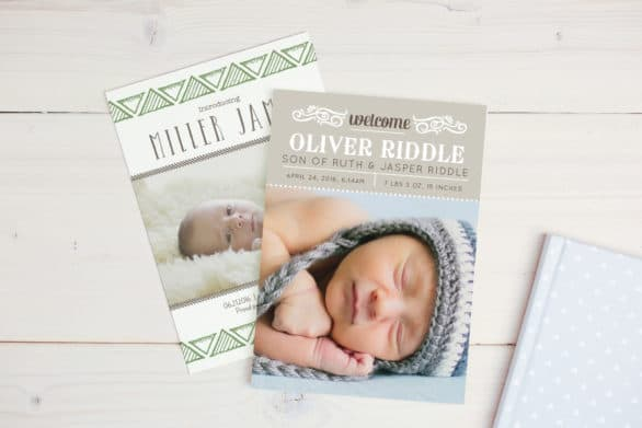Cute Basic Invite Baby Invitations