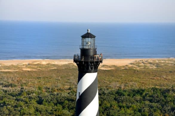 Cape Hatteras Lighthouse in the Outer Banks