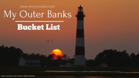 My Outer Banks Bucket List - A list of amazing things I want to see and do with my family in North Carolina's famous Outer Banks #bucketlist #familytravel #OBX