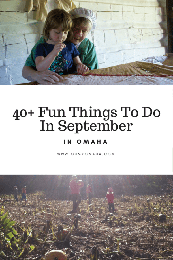 40+ Family-Friendly Events In September