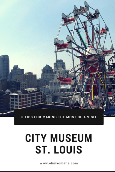 Tips for visiting the City Museum in St. Louis - What to expect, how to keep track of your kids and more! #familytravel #citymuseum #Missouri