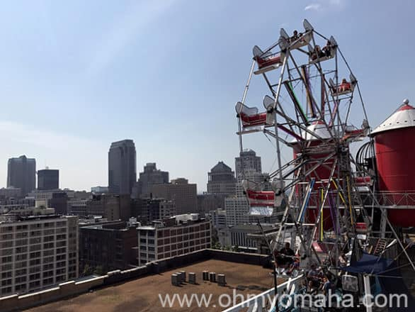 The view from the rooftop at City Museum in St. Louis