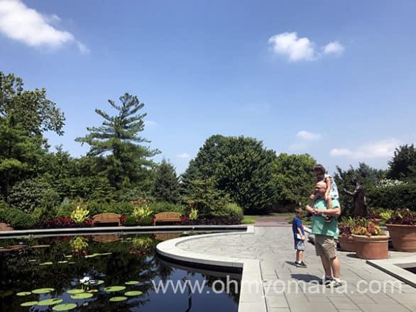 Carver Garden at Missouri Botanical Garden in St. Louis