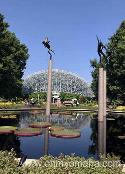 Exterior of the Climatron at Missouri Botanical Garden