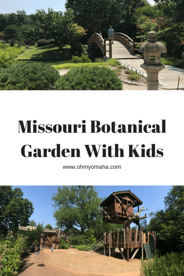 A guide to visiting Missouri Botanical Garden with kids - Things to do and see at St. Louis' popular botanical gardens #Missouri #STL #familytravel