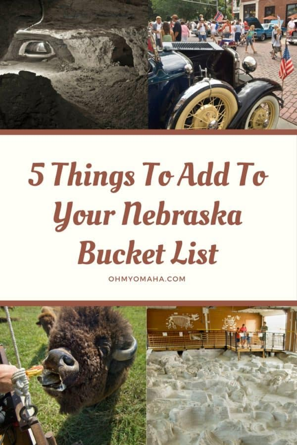 Planning a road trip through Nebraska? Here are some fun, bucket list-worthy stops to include! #Nebraska #roadtrip #familytravel
