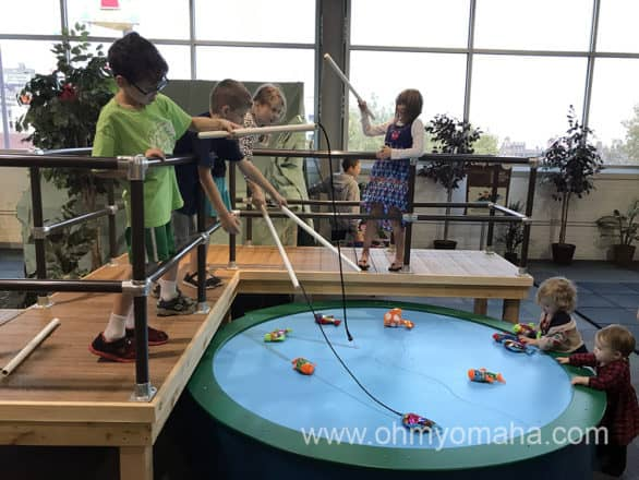 Forever forest at omaha children 39 s museum ohmy omaha for The fish omaha