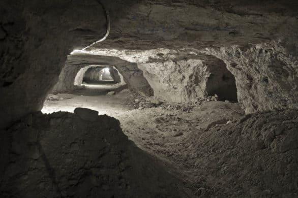 Inside the Happy Jack Peak & Chalk Mines in Scotia, Nebraska