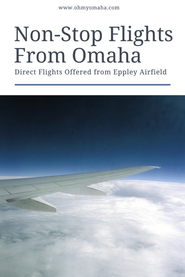 Time for vacation? Find the quickest routes out of Omaha with this list of non-stop flights from Omaha! #travel #vacation