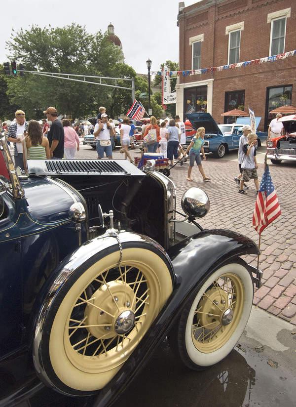 Seward, Nebraska, during its Fourth of July celebration