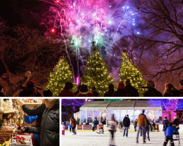 Twin Cities winter activities at Hollidazzle in downtown Minneapolis