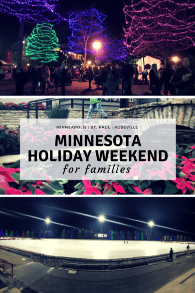 A holiday getaway to Minnesota? Of course! Here's a guide to a few Christmas annual events planned around the Twin Cities as well as year-round attractions for families. #familytravel #TwinCities #Minnesota #USA