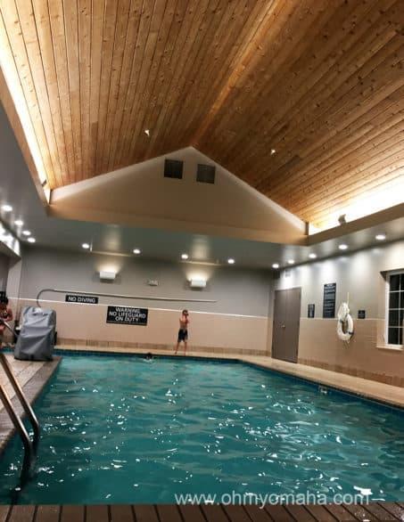 Residence Inn pool in Roseville, Minn.