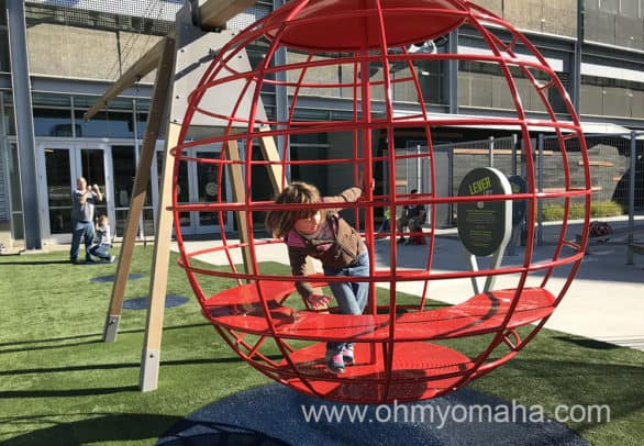 Outdoor play space at Science City at Union Station in Kansas City