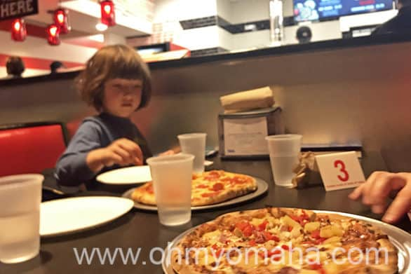 Simple pepperoni and cheese pizza satisfies kids at 1000 Degrees Neapolitan Pizzeria