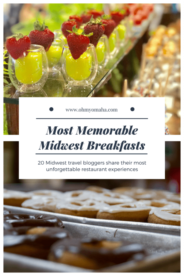 20+ restaurants in the Midwest with unforgettable breakfast - Recommendations for where to eat in several Midwestern states (plus some suggestions on what to order!) #breakfast #brunch #foodie
