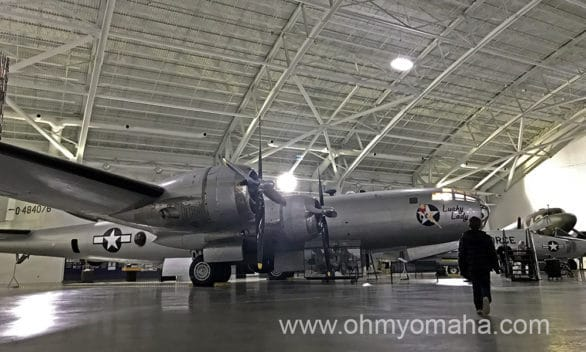 Museums near Omaha - Strategic Air Command and Aerospace Museum is located about 30 miles from Omaha.