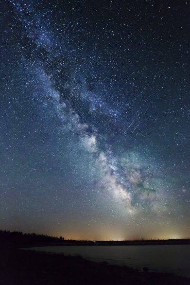 Northern Michigan nights are meant for stargazing.